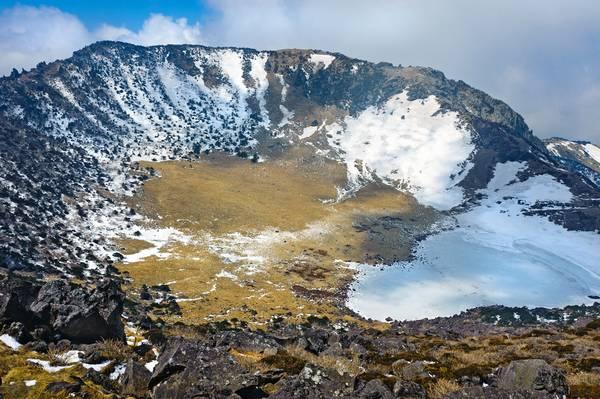 Het vulkanische eiland van Jeju