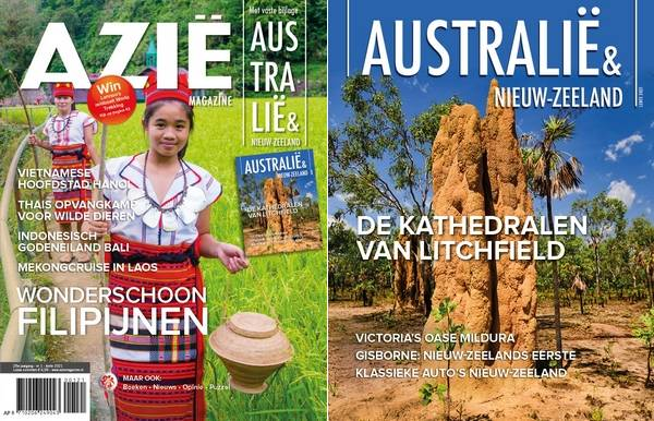 Cover Azië en Down Under